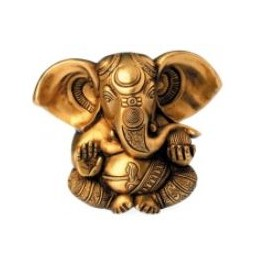 Ganesha, massiv, 13 cm