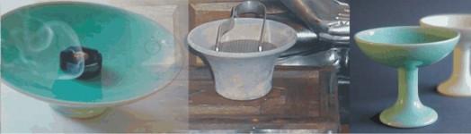 Räuchergefässe aus Ton